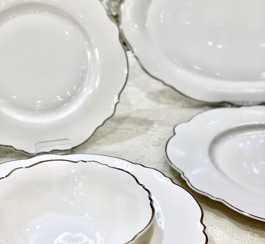 Bricard Porcelain Lecci 6-Persoons | 25-Delig Serviesset