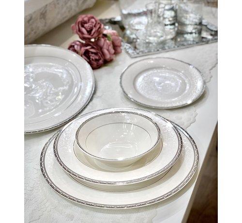 BRICARD PORCELAIN Bricard Porcelain Fayet 6-Persoons | 25-Delig Serviesset