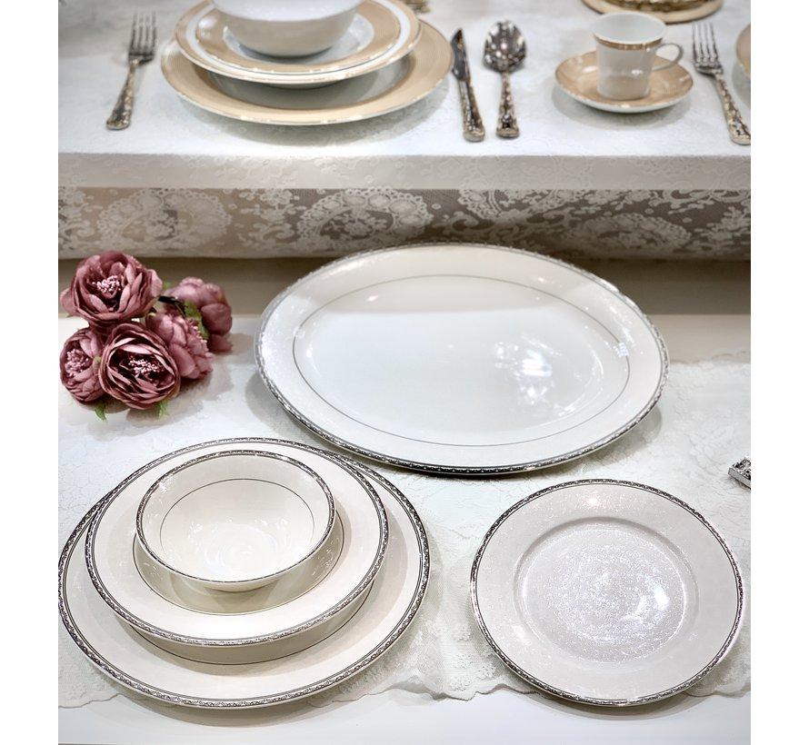 Bricard Porcelain Fayet 6-Persoons | 25-Delig Serviesset