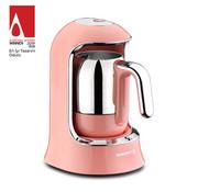 KORKMAZ Korkmaz Kahvekolik Pembe Otomatik Kahve Makinesi A860