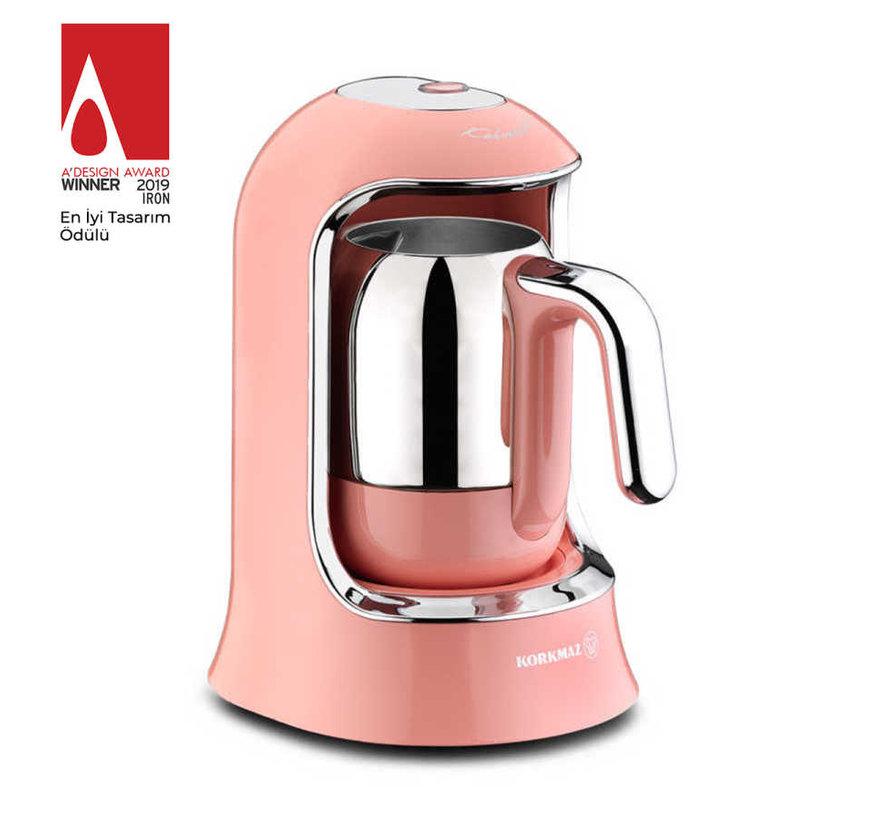 Korkmaz Kahvekolik Turkse Koffiezetapparaat Roze A860
