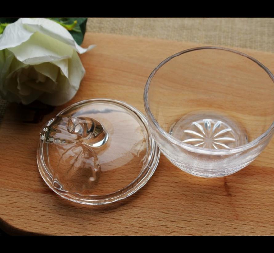 BONBONNIERE GLAS APPEL CNR-9404