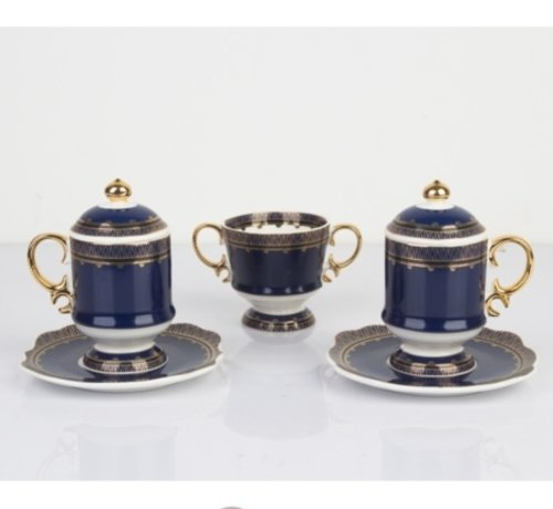 ACR ACR HURREM ESPRESSO SET 2 PERSON 7 DELIG BLUE