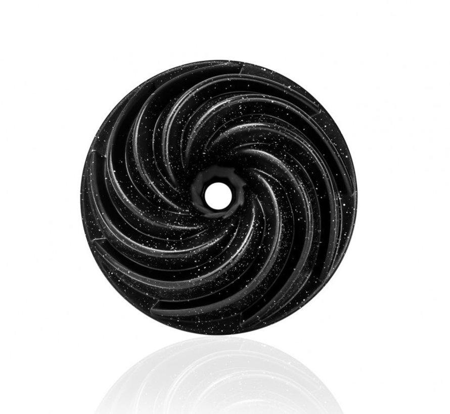TAC OVENSCHAAL GRANIT 6540 zwart