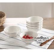ACR ACR Porselein Snackscaal 10 cm