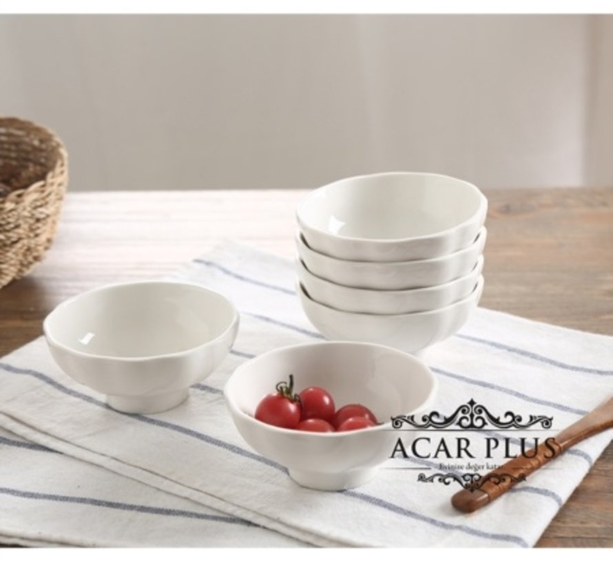 ACR Porselein Snackscaal 10 cm