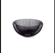 ACR ACR Zwarte Metaal Fruitmantje -M- 30 cm