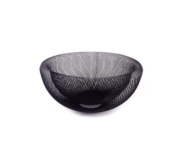ACR Zwarte Metaal Fruitmantje -M- 30 cm