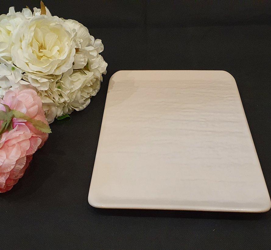 ACR Natuursteen Dienblad 30 cm Mat Cream (Per Stuk)