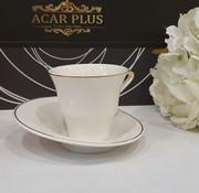 ACR ACR Istanbul 12 Delig Espressoset Wit