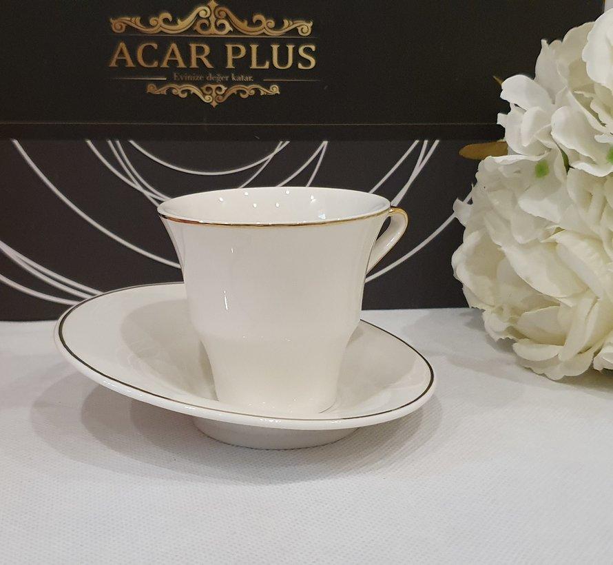 ACR Istanbul 12 Delig Espressoset Wit