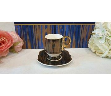 ACR ACR Saray 12 Delig Espressoset Zwart