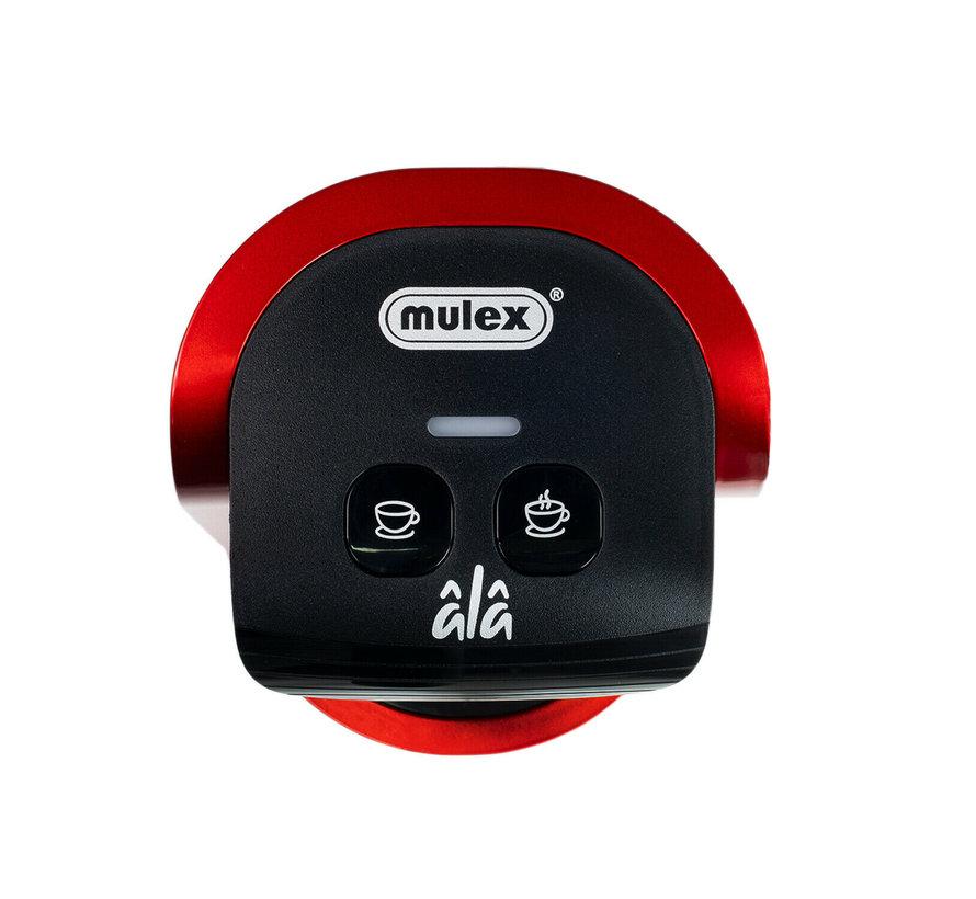 Mulex Koffieautomaat Rood