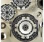 Kütahya Porselen Bone Kalipso 52-delig Serviesset met patroon 880042