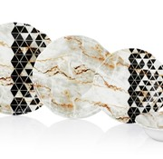 Noble Life 24-delig Serviesset Marble