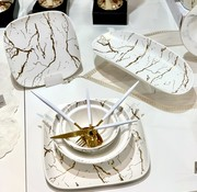 BRICARD PORCELAIN Bricard Porcelain Mat Marbel Wit 6-Persoons | 25-Delig Serviesset