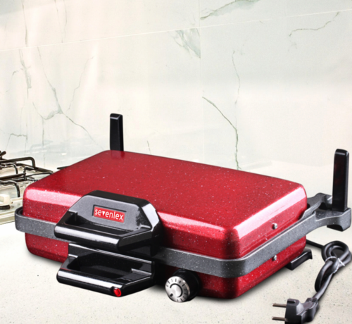 SVN Turbo Grill- en Lahmacun machine Rood