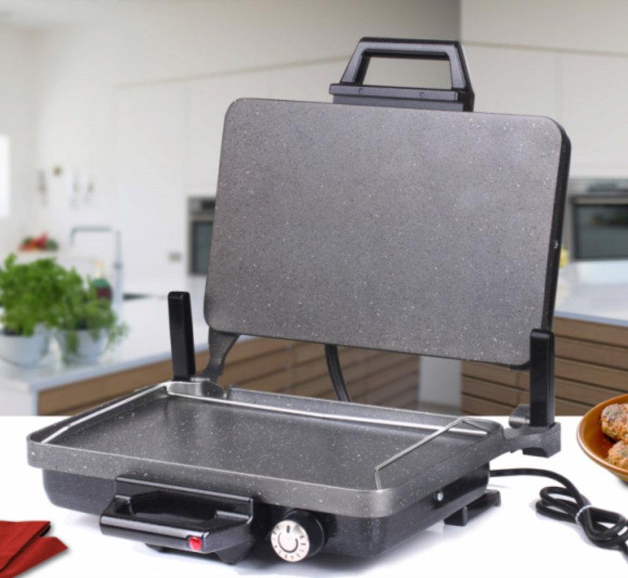 SVN Turbo Grill- en Lahmacun machine Zwart