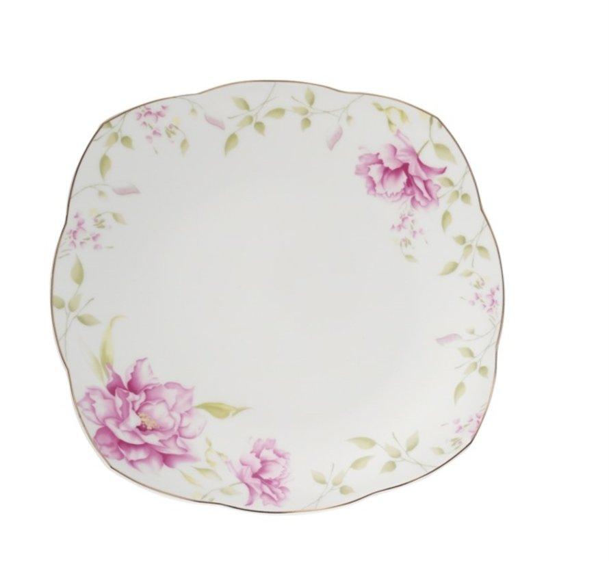 Kutahya Porselen 73-delig Bone Kare Serviesset 50112