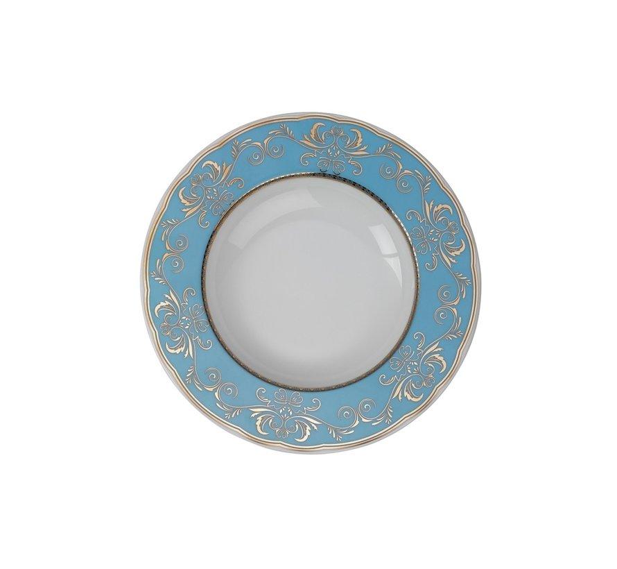 Kütahya Porselen 97 Parça İris Yuvarlak Yemek Takımı 6914