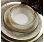 Kütahya Porselen Bone Kalipso 62-delig Serviesset met patroon 930621