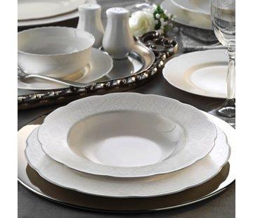 KUTAHYA Kütahya Porselen Bone Olympos 62 Parça Yemek Takımı 10061 Desenli