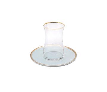 KARACA Karaca Pure Mint 12 Parça Çay Seti