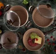 Falez 7-delig Creamy Premium Pannenset CRE 3001
