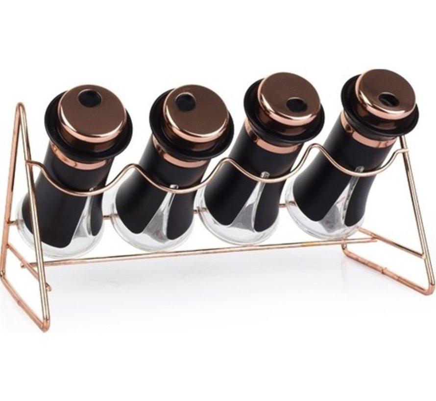 ACR Matrica 5 Delig Kruidenset Zwart-Brons