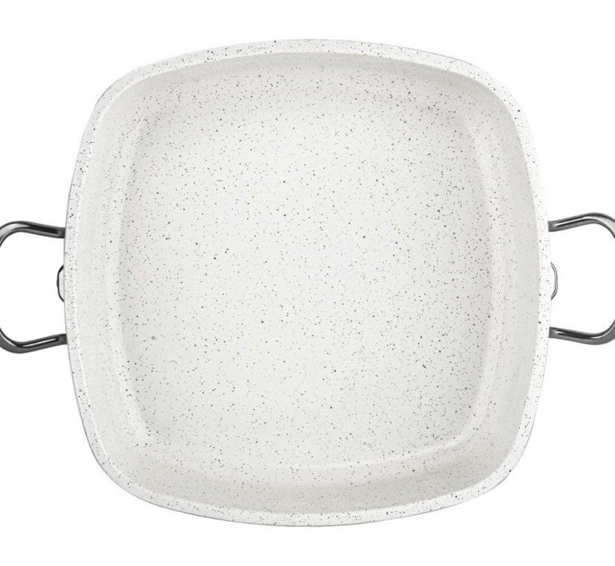 TAC Granit Kookpan - Braadpan Cream 28 Cm