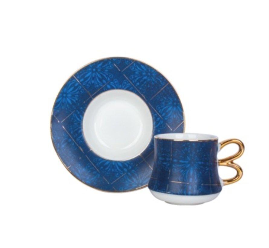ACR 12 Delig Espressoset Blue