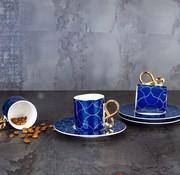 ACR ACR 12 Delig 6 Persoon Espressoset Blauw