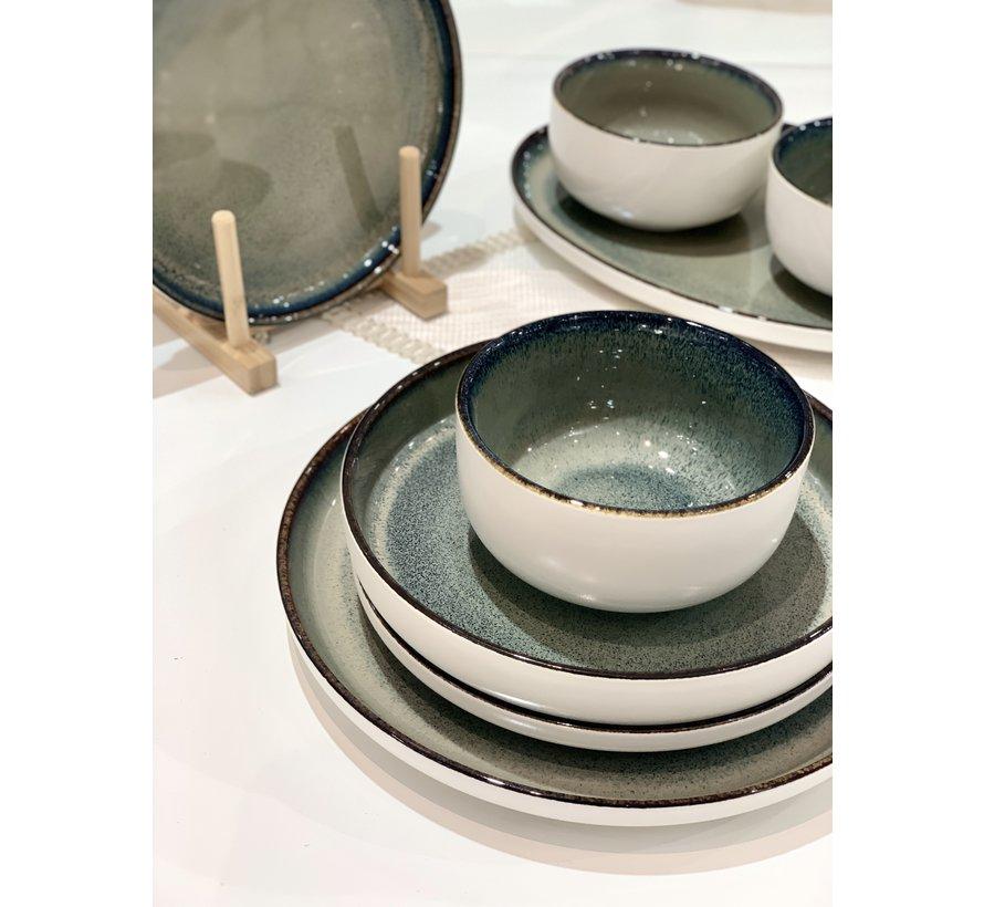 Bricard Porcelain Nice Blauw 6-Persoons | 25-Delig Serviesset