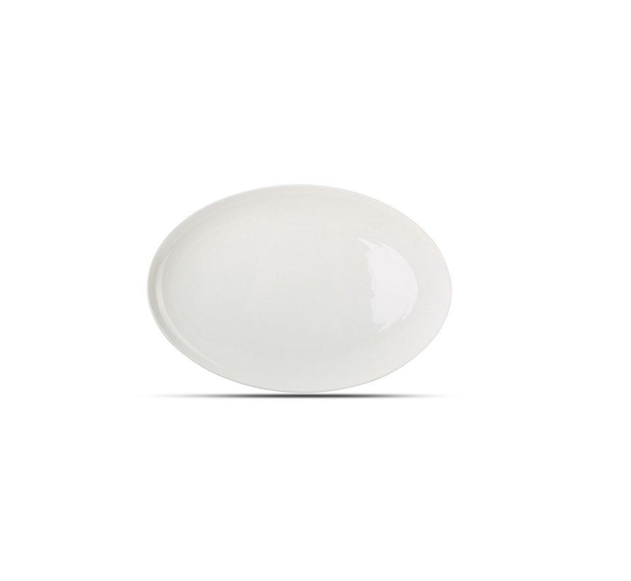 Chic Perla White Plat Bord 36 cm