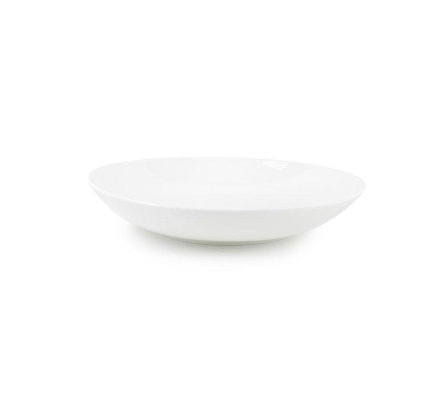 Chic Perla White Diep Bord 21 cm