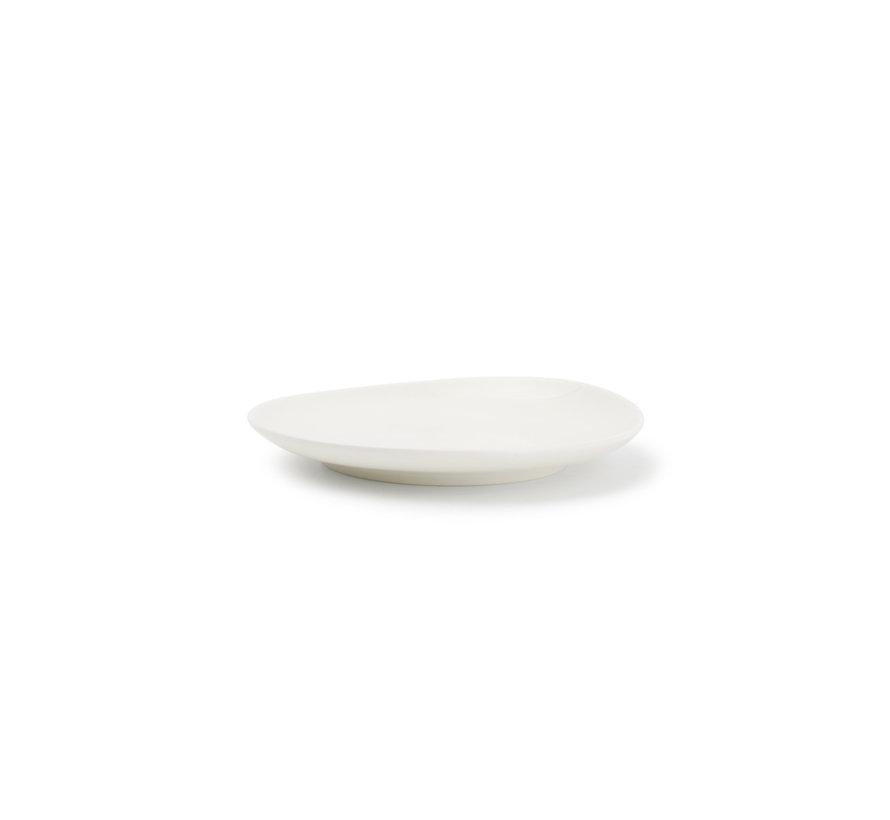 Chic Perla White Plat Bord 12 cm