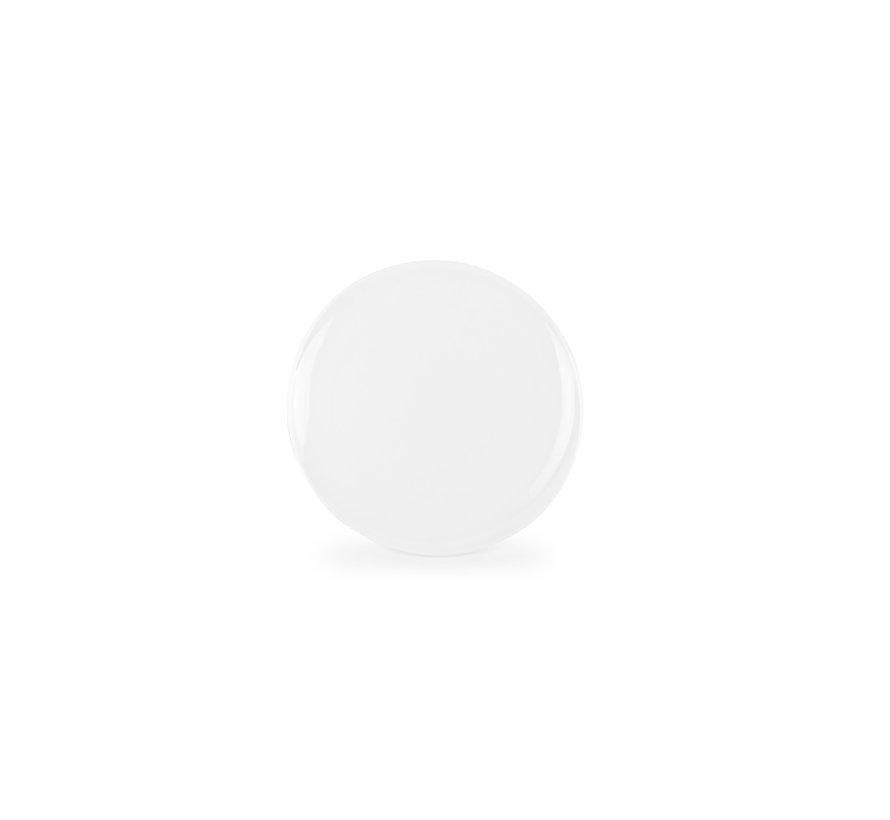 Chic Perla White Plat Bord 21 cm