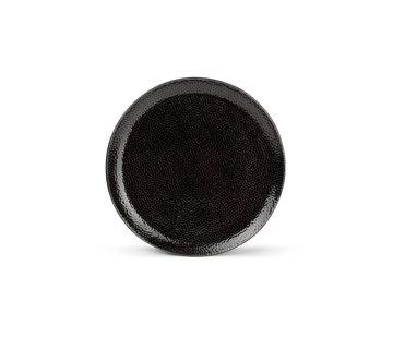 S|P Collection Mielo Plat bord 26,5cm zwart
