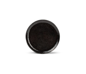 S|P Collection Mielo Platte  bord 20,5cm zwart