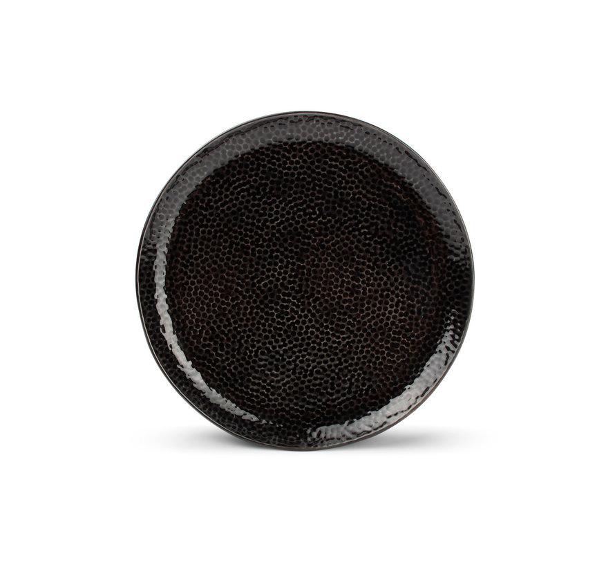 Mielo Platte bord 20,5cm zwart