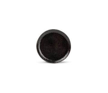 S|P Collection Mielo Platte Bord 15,5 cm zwart