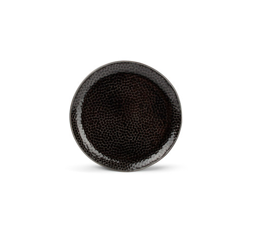 S & P  Mielo Platte Bord 15,5 cm zwart
