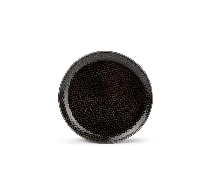 Mielo Platte Bord 15,5 cm zwart