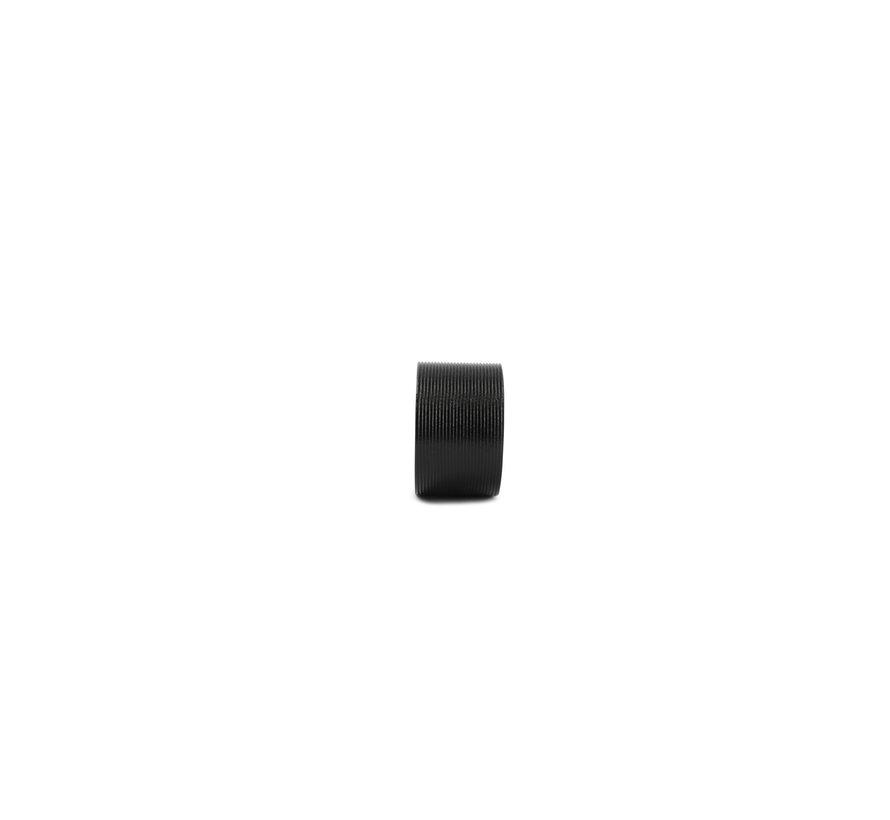 Centro Servetring 4 cm Lijn Zwart 4 Delig