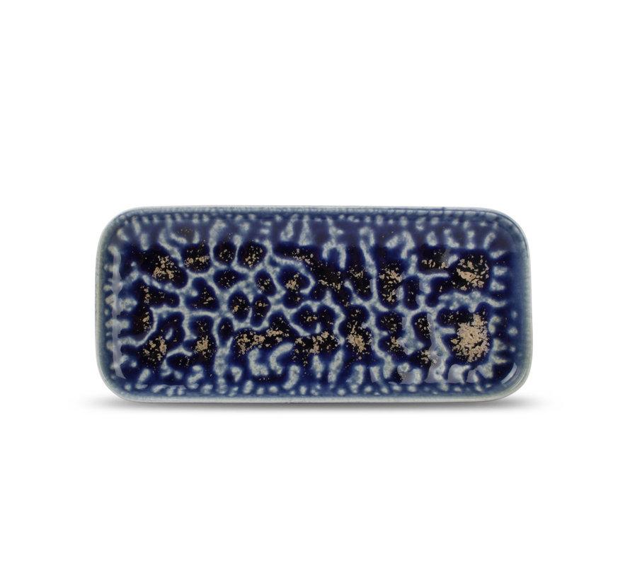 Fine2Dine Cobalt Oxido Serveerschaal 22x10 cm Blauw