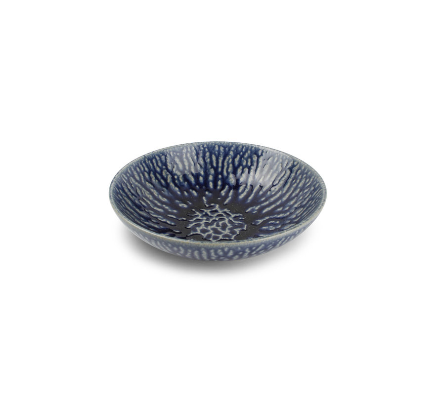 Cobalt Oxido Diep Bord  22.5 cm Blauw