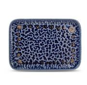 S & P Fine2Dine Cobalt Oxido Plat Bord 28x20 cm Blauw