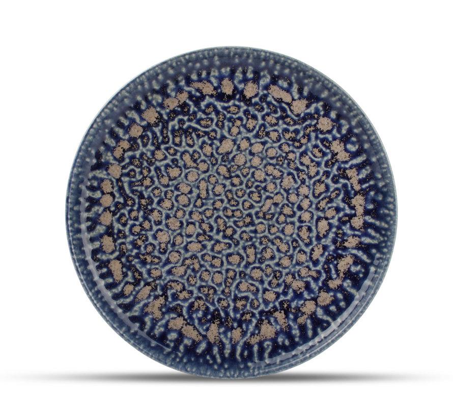Fine2Dine Cobalt Oxido Plat Bord 28.5 cm Blauw