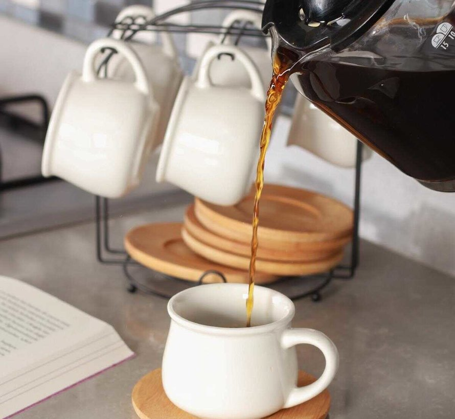 Acr Koffiset Bamboe Met Hanger 13 Delig