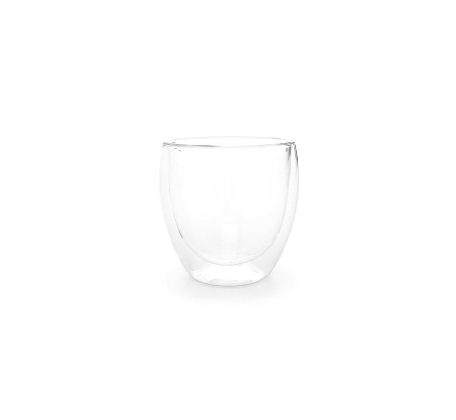 ONA VIENNA BEKER 26 CL DUBBELWANDIG GLAS - 2 DELIG